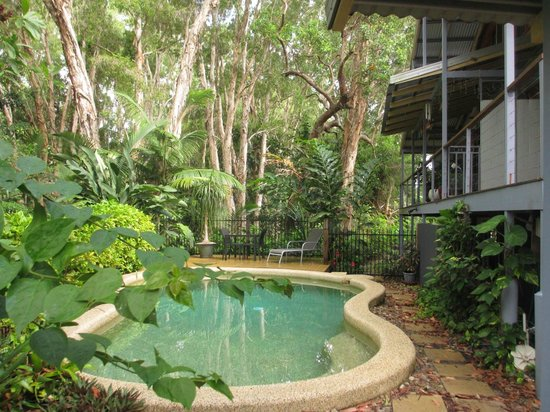 Clifton Beach Retreat: cool refreshing pool to relax by