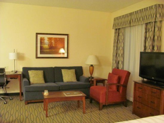 Residence Inn Denver City Center : Sitting area