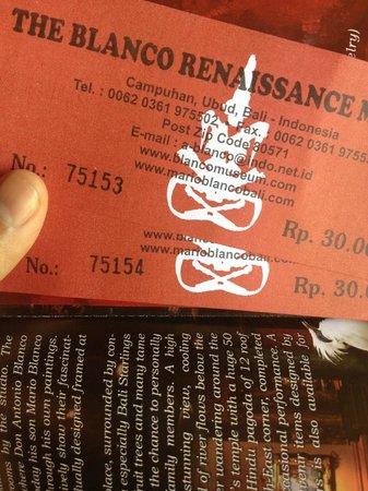 Don Antonio Blanco Museum: the tickets