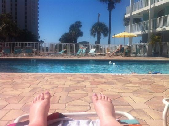 Pelican Pointe Hotel and Resort: the pool