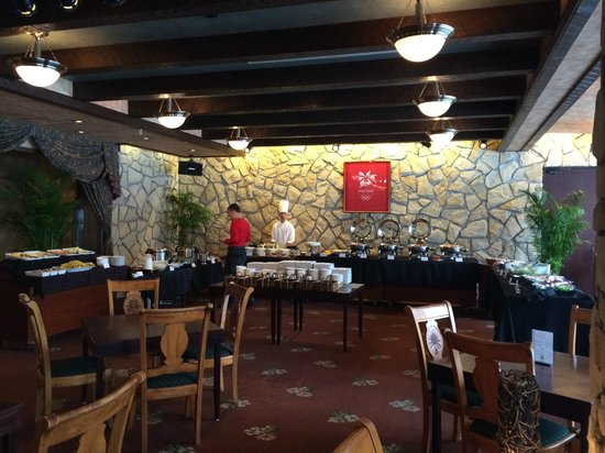 Hakuba Mominoki Hotel: Breakfast Buffet