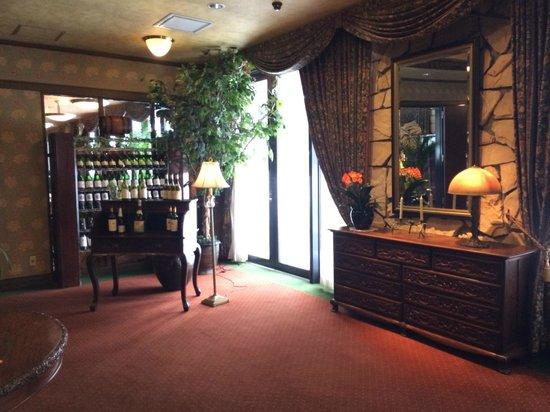 Hakuba Mominoki Hotel : Restaurant Foyer