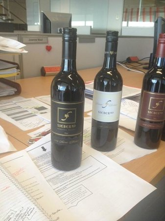 Seiber Road Wines: Courier arrival of quality product