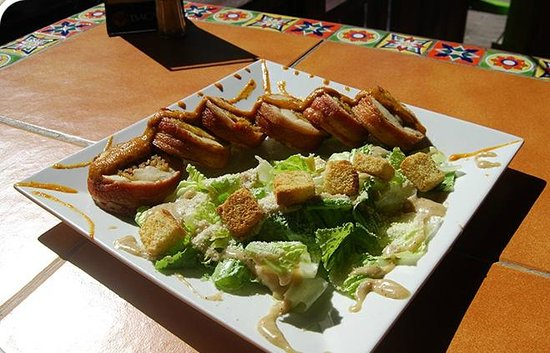 Lupi's Mexican Grill & Sports Cantina: Stuffed Chicken Breast