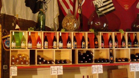 La Taverne Vigneronne : Coté vin
