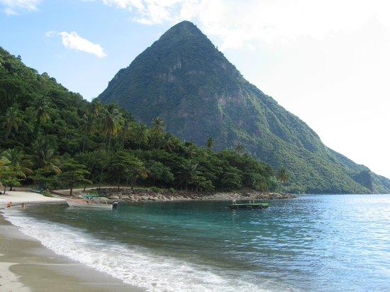 Jalousie Beach: пляж