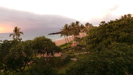 Kaanapali Beach Hotel: view from our room