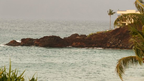 Kaanapali Beach Hotel: black rokc