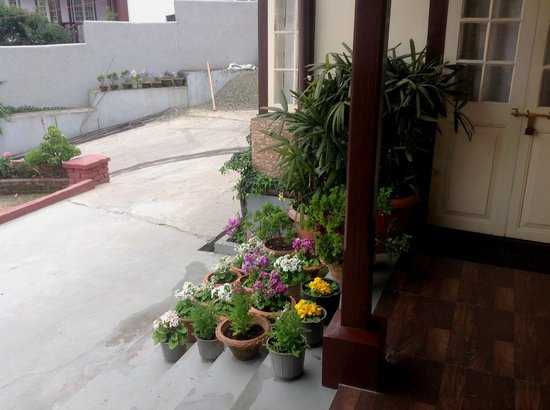 Cafe Shillong Bed & Breakfast: Entrance of the Reception