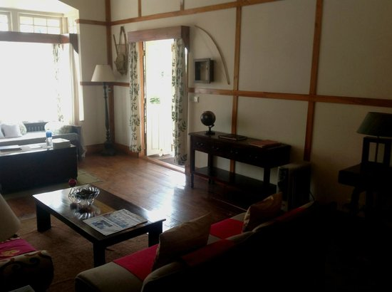 Cafe Shillong Bed & Breakfast : Reception