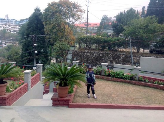 Cafe Shillong Bed & Breakfast: Lawn
