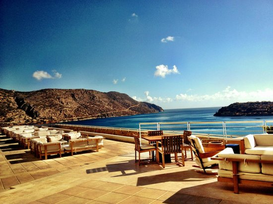 Blue Palace, a Luxury Collection Resort & Spa, Crete : view from hotel