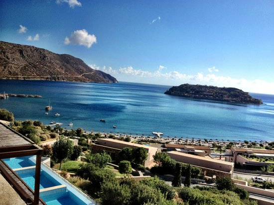 Blue Palace, a Luxury Collection Resort & Spa, Crete: view from hotel