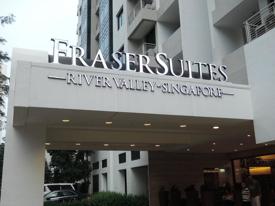 Fraser Suites Singapore: エントランス