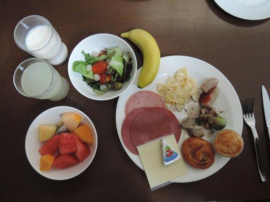 Fraser Suites Singapore: ある日の朝食