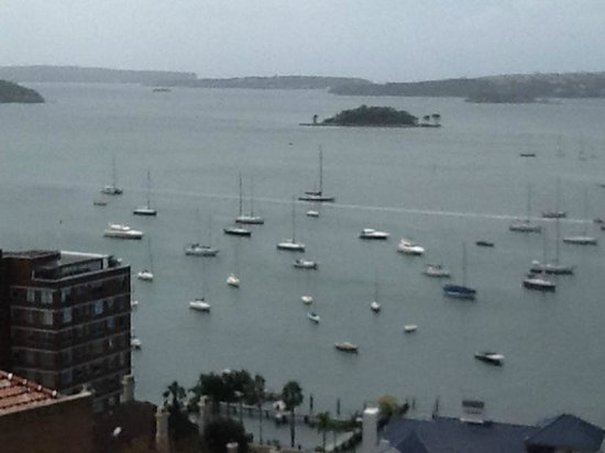 Macleay Hotel: View from Hotel window 914