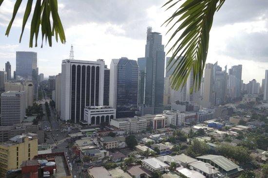 City Garden Hotel Makati: Widok