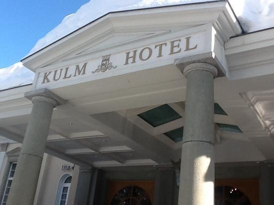 Kulm Hotel St. Moritz: Front of Kulm Hotel, St Moritz, Switzerland