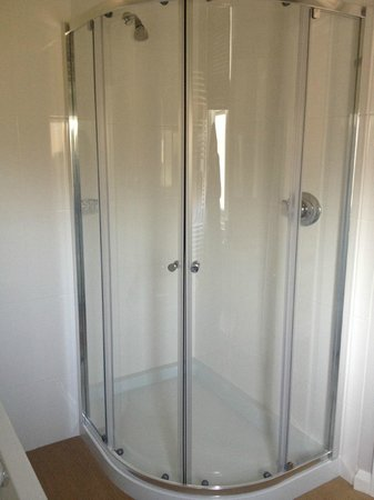 Grays Boutique B&B: Piping hot shower!