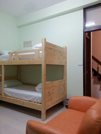 Tainan Travel Inn: GREEN MIXED DORM 綠背包客房