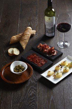Cloud Lounge Dining Iberico Bellota Ham Chorizo Manchego Cheese
