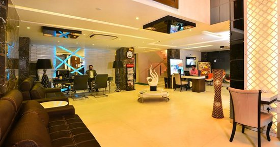 Trimrooms  Uppal International: Hotel Lobby