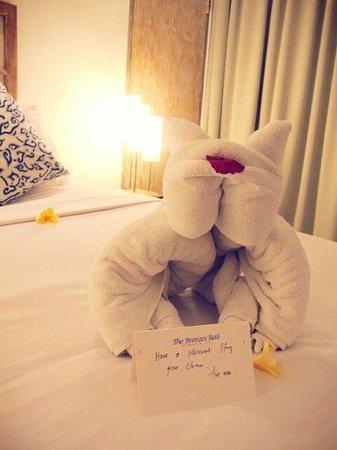 The Breezes Bali Resort & Spa : Cute Towel creativity