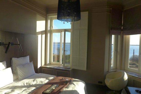 Strandhotel Blankenese: Zimmer 4 mit Aussicht