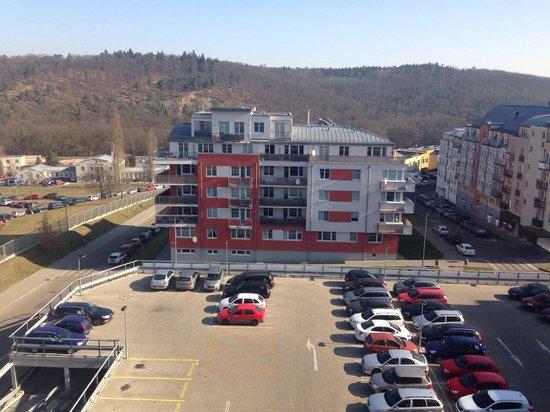 Rezidence Emmy: Vista dal 6º piano