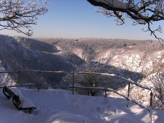 Berghotel Rosstrappe: Winter an der Rosstrappe 2
