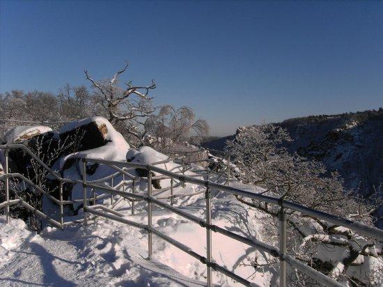 Berghotel Rosstrappe: Winter an der Rosstrappe 4
