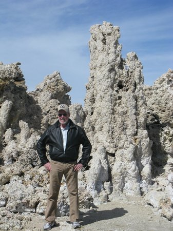 Swiss Chalet Bed and Breakfast Inn : Petrified Springs at Mono Lake