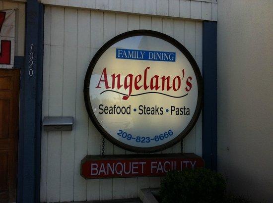 Angelano's Exterior