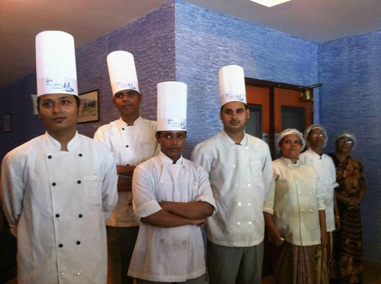 Blue Waters Cherai : The team from the kitchen