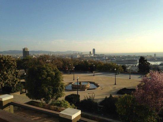 Hotel Miramar Barcelona: vue ville