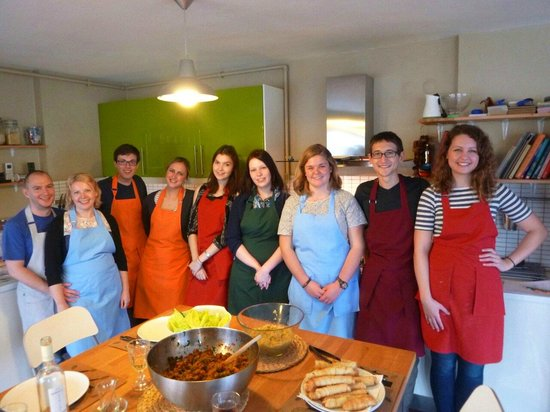 Istanbul Cooking School : Our class