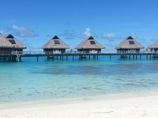 Conrad Bora Bora Nui : View from the Hilton Beach