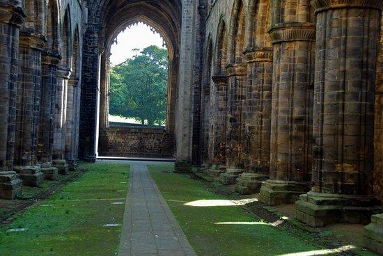 Kirkstall Abbey: The Abbey.