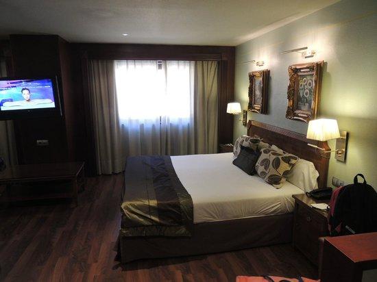 Hotel Plaza Andorra : family room