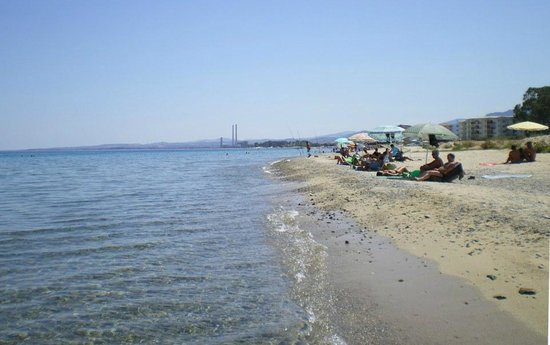 Corigliano Calabro, إيطاليا: La spiaggia del lungomare di Schiavonea (Cs)