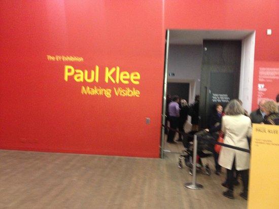 Tate Modern : Пространства Пауля Клее