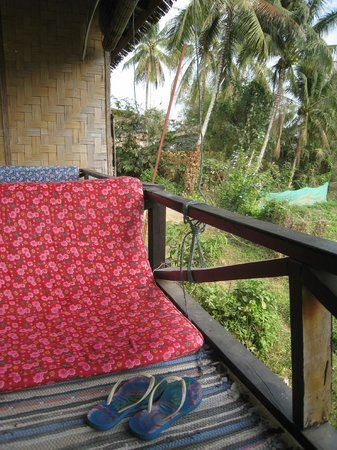 Jammee Guest House : The terrace