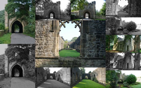 Whalley Abbey Ruins.
