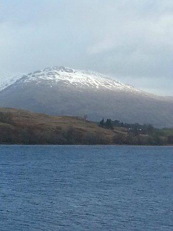 Portsonachan Hotel : View over the Loch