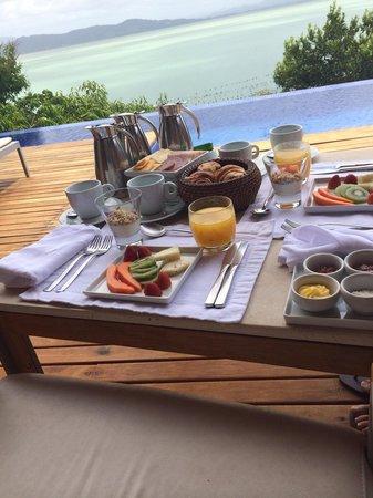 Ponta dos Ganchos Exclusive Resort : Un desayuno con estilo 2/14