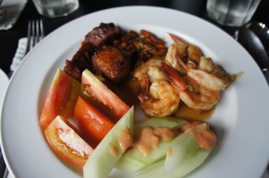 Borneo Rainforest Lodge: Perfect food
