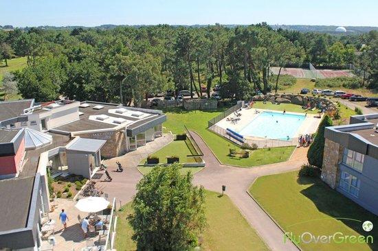 Golfhotel de Saint Samson: Restaurant, bar, piscine