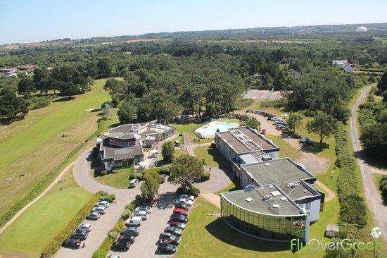 Golfhotel de Saint Samson: Restaurant, bar, piscine, tennis et hôtel
