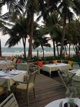 Anantasila Villa by the Sea, Hua Hin : Utsikt från restaurangen