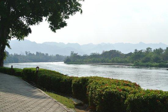 Felix River Kwai Resort - Kanchanaburi : River view